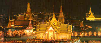The Grand Palace and the Temple of the Emerald Buddha, Bangkok