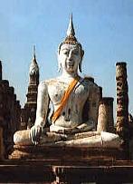 Giant Buddha, Wat Mahathat - Now