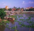 Ayutthaya from the Chao Phraya River