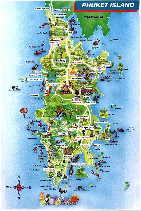 Walking Around Phuket Island